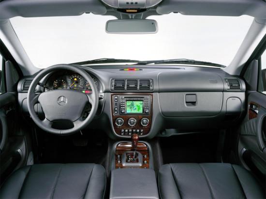интерьер Mercedes M-Class W163