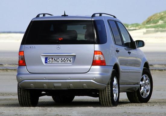 Мерседес М-класса 1997-2005 года