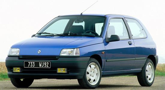 Renault Clio 1 (1990-1998) на IronHorse.ru ©