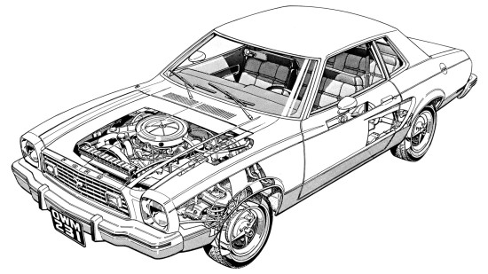 конструкция Ford Mustang 2