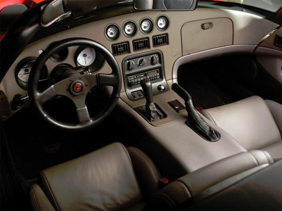 интерьер Dodge Viper Phase I SR