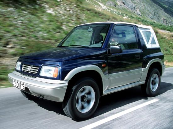 Suzuki Vitara Canvas Top 1989–1998
