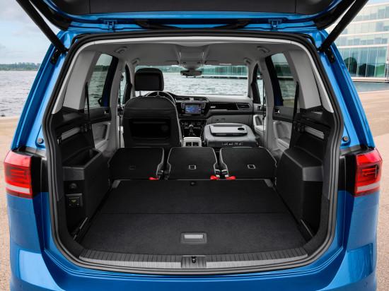 багажное отделение VW Touran II