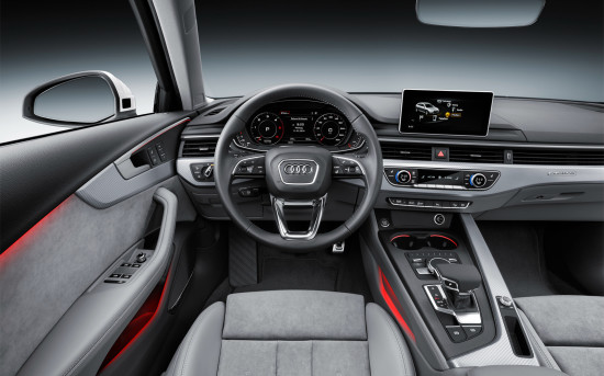 интерьер Audi A4 B9 allroad quattro