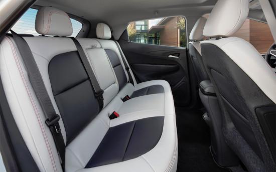 в салоне Chevrolet Bolt EV