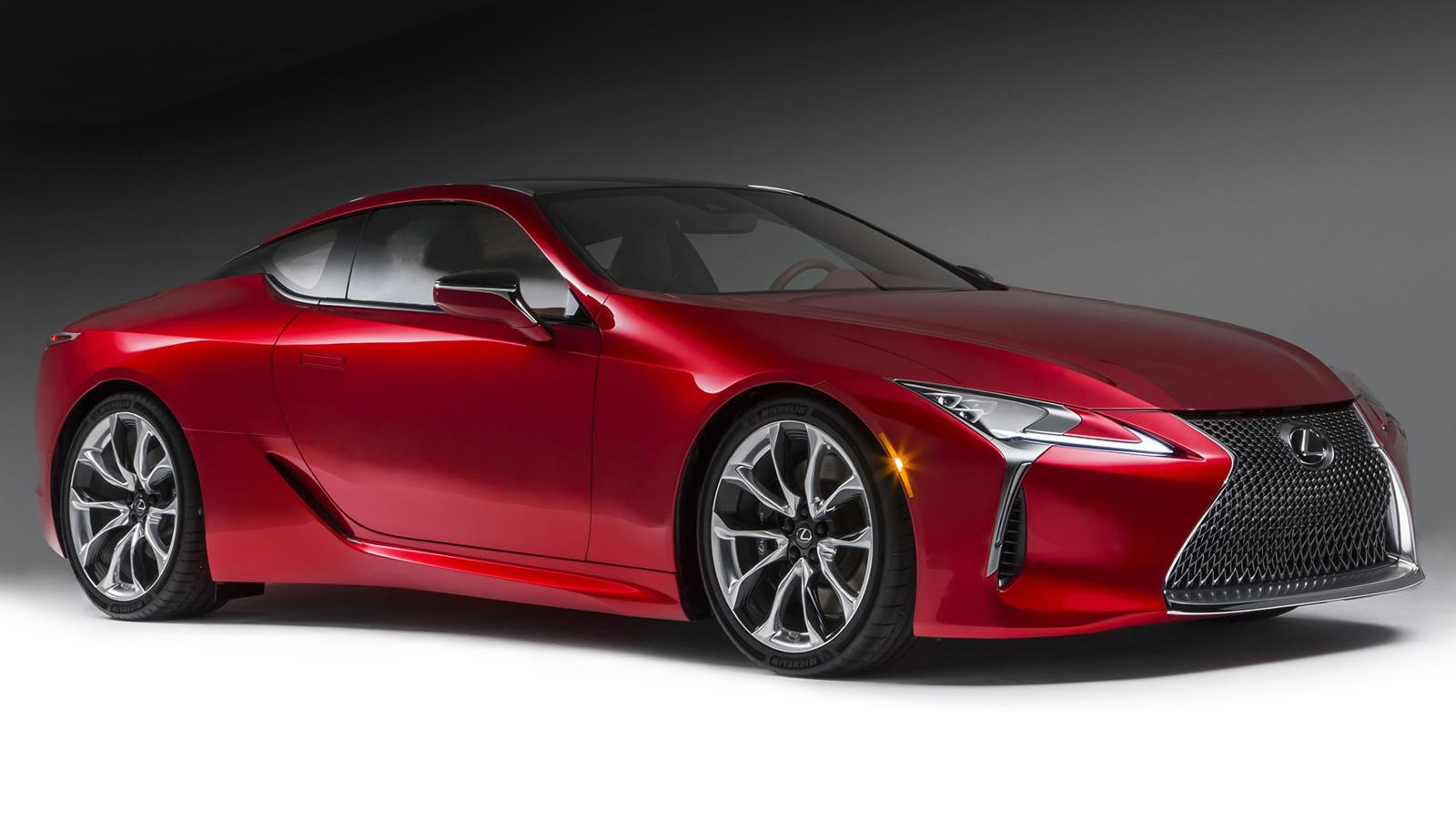 Lexus lc 500 test