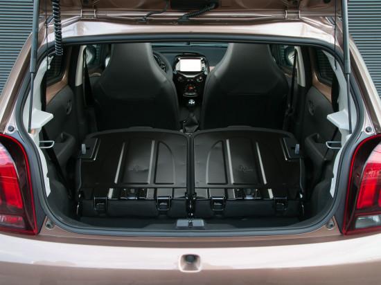багажное отделение Peugeot 108