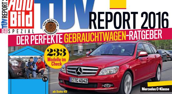 рейтинг надёжности авто TUV Report 2016 на IronHorse.ru ©
