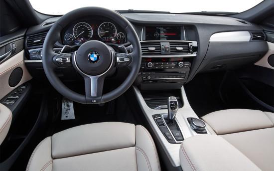 интерьер BMW X4 M40i