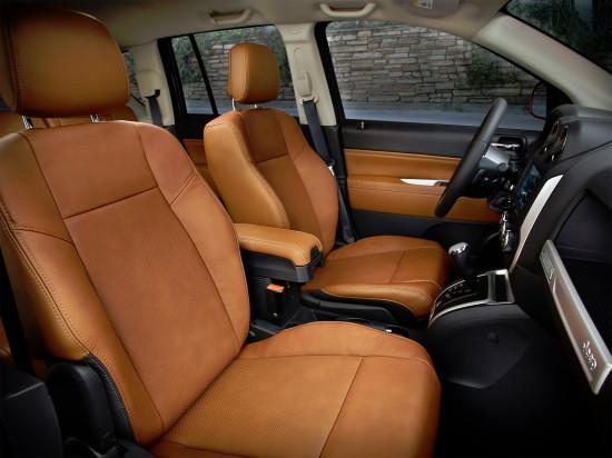 в салоне Jeep New Compass FL