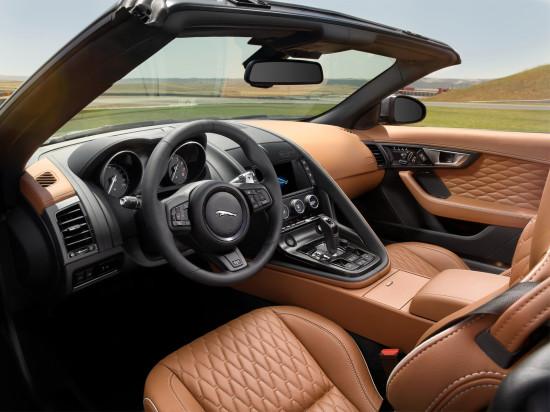 интерьер Jaguar F-Type SVR Convertible