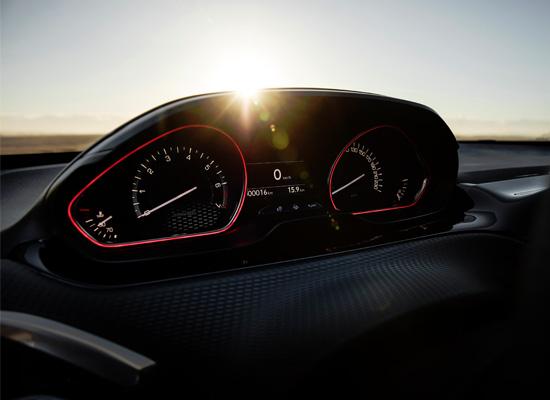 приборы Peugeot 2008 GT Line