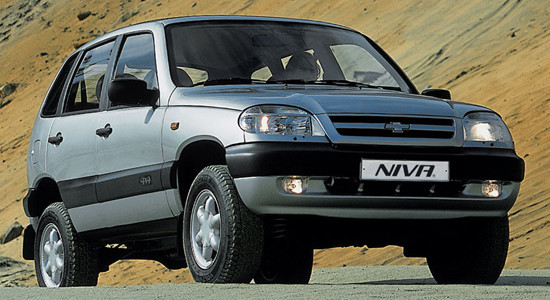 Chevrolet Niva FAM-1 (GLX) на IronHorse.ru ©