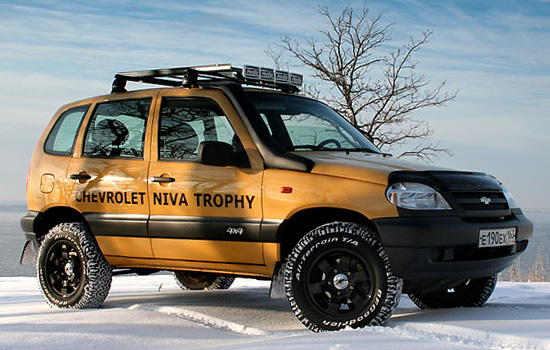 Chevrolet Niva Trophy