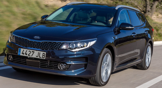 KIA Optima Sportswagon на IronHorse.ru ©