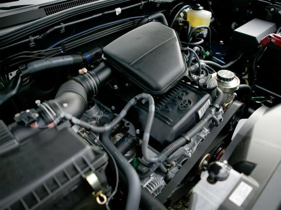 под капотом Тойоты Такомы 2-го поколения