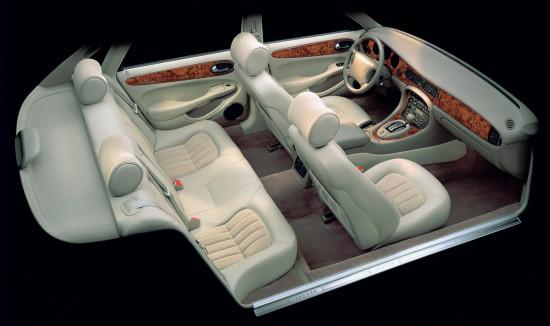 интерьер салона Jaguar XJ X308