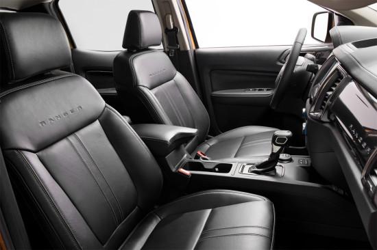 интерьер салона Ford Ranger 4 (T6 NA)