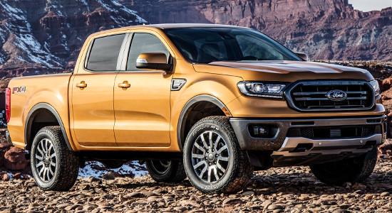 Ford Ranger 2019 модельного года: новое поколение пикапа