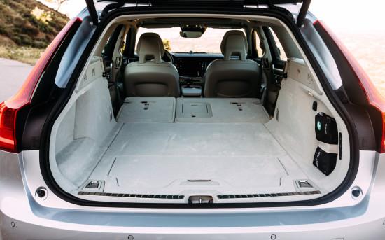 багажное отделение Volvo V90 II
