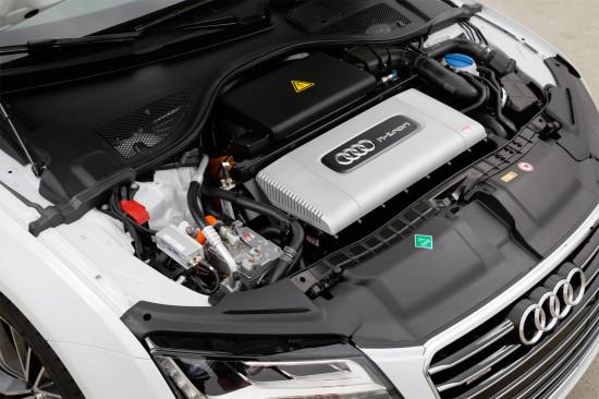 под капотом Audi A7 Sportback h-tron quattro