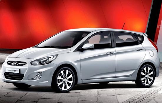 хэтчбек Hyundai Accent 4