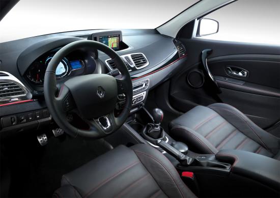 интерьер салона Renault Fluence GT2