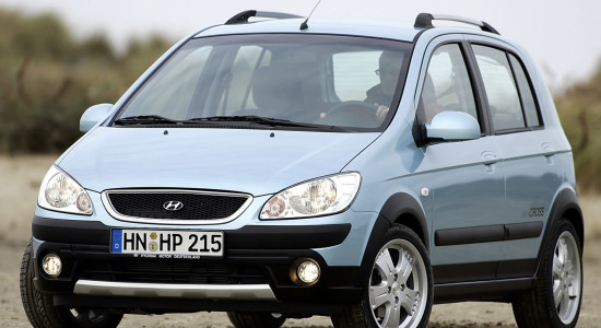 Hyundai Getz Cross (2006-2009) на IronHorse.ru ©