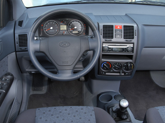 интерьер салона Hyundai Getz I