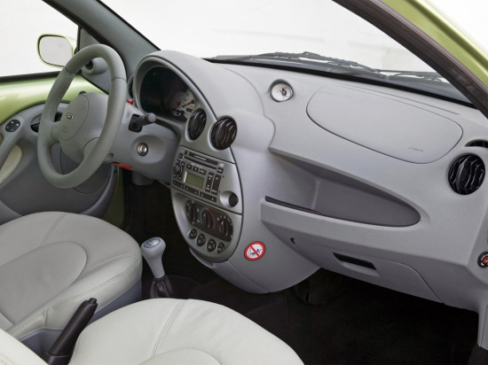 интерьер салона Форд Ка 1-го поколения