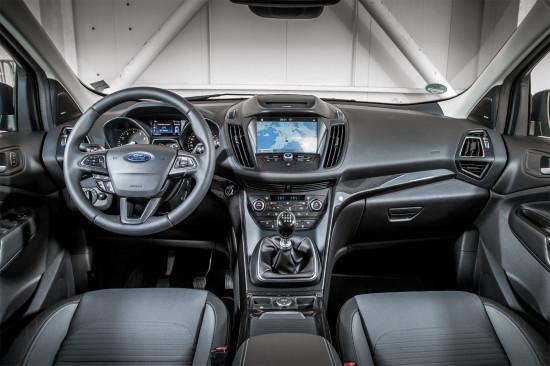 интерьер обновленного Форд Куга 2017 модельного года