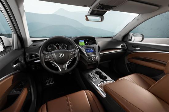 интерьер Acura MDX III Sport Hybrid