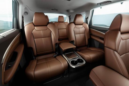 в салоне Acura MDX 3 Sport Hybrid