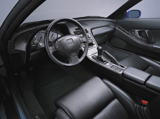 интерьер салона Хонды NSX 1-го поколения (1990-2005)