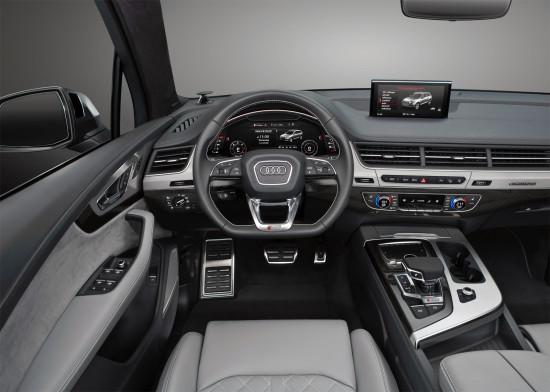 интерьер Audi SQ7 TDI
