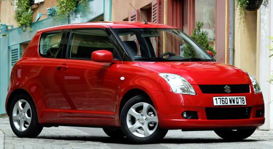 Suzuki Swift 2 (2004-2010) на IronHorse.ru ©