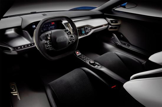 центральная консоль Ford GT 2