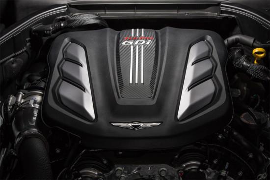 двигатель Genesis G80 Sport