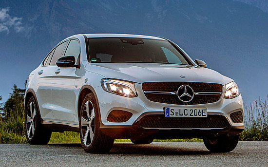 Mercedes-Benz GLC Coupe C253
