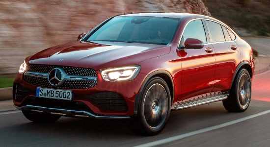 Mercedes-Benz GLC Coupe (2018-2019) на IronHorse.ru ©