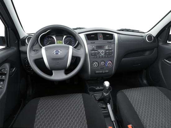 передняя панель и центральная консоль Datsun on-DO