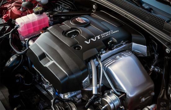под капотом Cadillac ATS Coupe