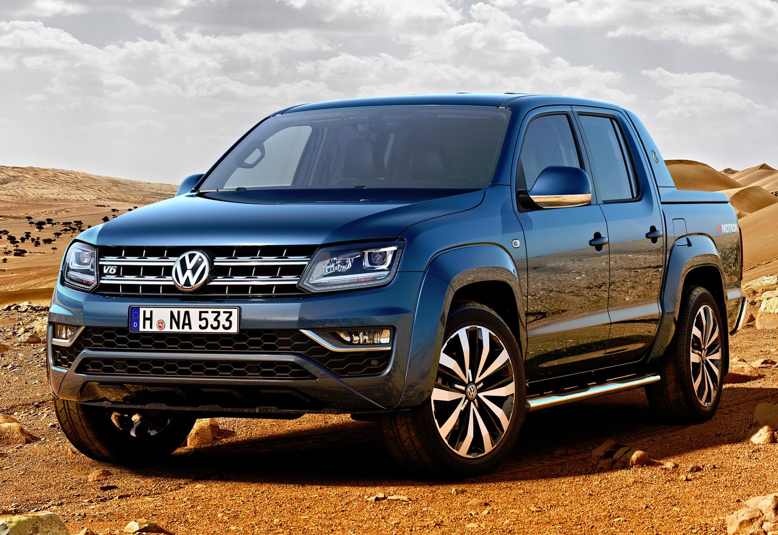 Volkswagen Amarok 2016 2017 цена фото комплектации