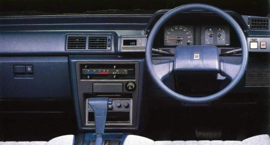интерьер салона Тойоты Марк 2 Х70