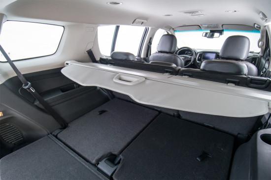 багажное отделение Chevrolet New TrailBlazer 2 FL