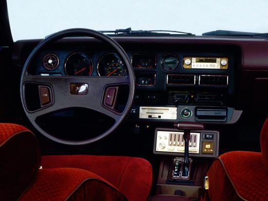 интерьер салона Тойоты Селики Супры 1978-1981 годов