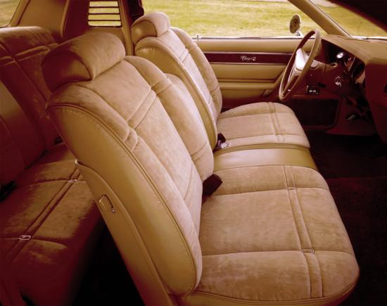 интерьер салона Dodge Charger 4 (1975-1978)