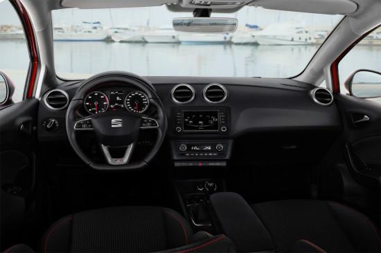 интерьер салона Seat Ibiza ST (6J)
