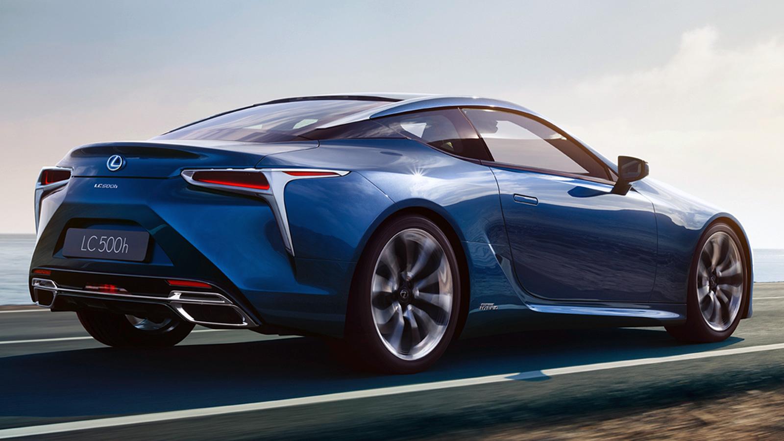 Смотреть Новый Lexus LC 500h видео