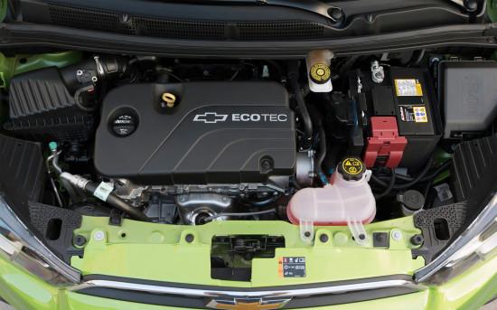 под капотом Chevrolet Spark 4-го поколения